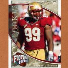 2009 Upper Deck Heroes Football #135 Everette Brown RC - Florida State Seminoles