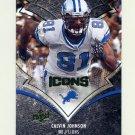 2008 Upper Deck Icons Football #031 Calvin Johnson - Detroit Lions