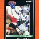 1992 Pinnacle Football #073 Brian Blades - Seattle Seahawks