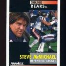 1991 Pinnacle Football #170 Steve McMichael - Chicago Bears
