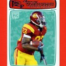 2008 Topps Rookie Progression Football #162 Chauncey Washington RC - USC Trojans