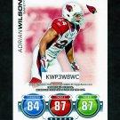 2010 Topps Attax Code Cards Football #50 Adrian Wilson - Arizona Cardinals