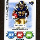 2010 Topps Attax Code Cards Football #18 Steven Jackson - St. Louis Rams