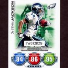 2010 Topps Attax Code Cards Football #17 DeSean Jackson - Philadelphia Eagles