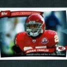 2010 Topps Peak Performance Football #PP25 Jamaal Charles - Kansas City Chiefs
