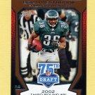 2010 Topps Draft 75th Anniversary Football #75DA50 Brian Westbrook - Philadelphia Eagles