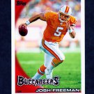 2010 Topps Football #279 Josh Freeman - Tampa Bay Buccaneers