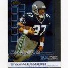 2002 Finest Football #037 Shaun Alexander - Seattle Seahawks