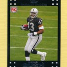 2007 Topps Football #304 Michael Bush RC - Oakland Raiders