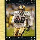 2007 Topps Football #162 Devery Henderson - New Orleans Saints