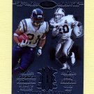 2007 Topps Chrome Running Back Royalty Football #TS LaDainian Tomlinson / Barry Sanders