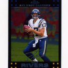 2007 Topps Chrome Football #TC008 Philip Rivers - San Diego Chargers
