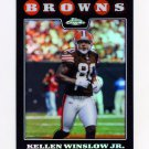 2008 Topps Chrome Refractors Football #TC094 Kellen Winslow - Cleveland Browns