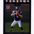 2008 Topps Chrome Football #TC171 John David Booty RC - Minnesota Vikings