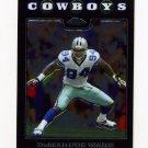 2008 Topps Chrome Football #TC112 DeMarcus Ware - Dallas Cowboys