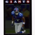 2008 Topps Chrome Football #TC075 Plaxico Burress - New York Giants