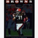 2008 Topps Chrome Football #TC057 Jamal Lewis - Cleveland Browns