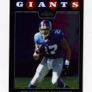 2008 Topps Chrome Football #TC052 Brandon Jacobs - New York Giants