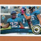 2011 Topps Football #401 Jacksonville Jaguars Team Maurice Jones-Drew / David Garrard