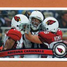2011 Topps Football #375 Arizona Cardinals Team / Larry Fitzgerald / Steve Breaston
