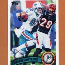 2011 Topps Football #135 Brian Hartline - Miami Dolphins