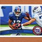 2011 Topps Football #081 Steve Smith - New York Giants