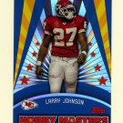 2006 Topps Hobby Masters Football #HM10 Larry Johnson - Kansas City Chiefs