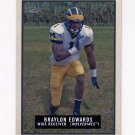 2009 Topps Magic Football #147 Braylon Edwards - The University of Michigan