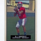 2009 Topps Magic Football #080 D.J. Shockley - University of Georgia
