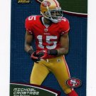 2011 Finest Football #091 Michael Crabtree - San Francisco 49ers