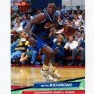 1992-93 Ultra Basketball #158 Mitch Richmond - Sacramento Kings