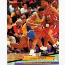 1992-93 Ultra Basketball #093 Byron Scott - Los Angeles Lakers