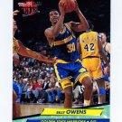 1992-93 Ultra Basketball #068 Billy Owens - Golden State Warriors