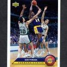 1992-93 Upper Deck McDonald's Basketball #P22 Sam Perkins - Los Angeles Lakers
