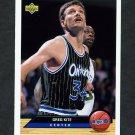 1992-93 Upper Deck McDonald's Basketball #OR04 Greg Kite - Orlando Magic