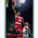 1995-96 Collector's Choice Basketball Players Club #022 Clyde Drexler - Houston Rockets