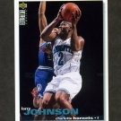 1995-96 Collector's Choice Basketball #002 Larry Johnson - Charlotte Hornets