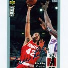 1994-95 Collector's Choice Basketball Silver Signature #105 Eric Riley - Houston Rockets
