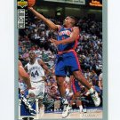 1994-95 Collector's Choice Basketball Silver Signature #082 Lindsey Hunter - Detroit Pistons