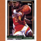 1992-93 Topps Gold Basketball #197G Jeff Sanders - Atlanta Hawks
