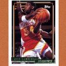 1992-93 Topps Gold Basketball #197G Jeff Sanders - Atlanta Hawks