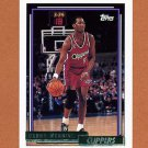 1992-93 Topps Gold Basketball #189G Danny Manning - Los Angeles Clippers