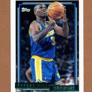 1992-93 Topps Gold Basketball #162G Tyrone Hill - Golden State Warriors