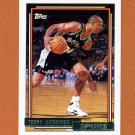 1992-93 Topps Gold Basketball #091G Terry Cummings - San Antonio Spurs