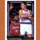 1992-93 Topps Gold Basketball #088G Loy Vaught - Los Angeles Clippers