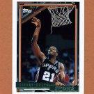 1992-93 Topps Gold Basketball #052G Sidney Green - San Antonio Spurs