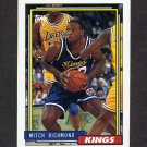 1992-93 Topps Basketball #025 Mitch Richmond - Sacramento Kings