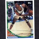 1993-94 Topps Basketball #327 Fat Lever - Dallas Mavericks