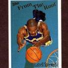 1994-95 Topps Basketball #240 Latrell Sprewell FTR - Golden State Warriors