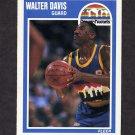 1989-90 Fleer Basketball #039 Walter Davis - Denver Nuggets